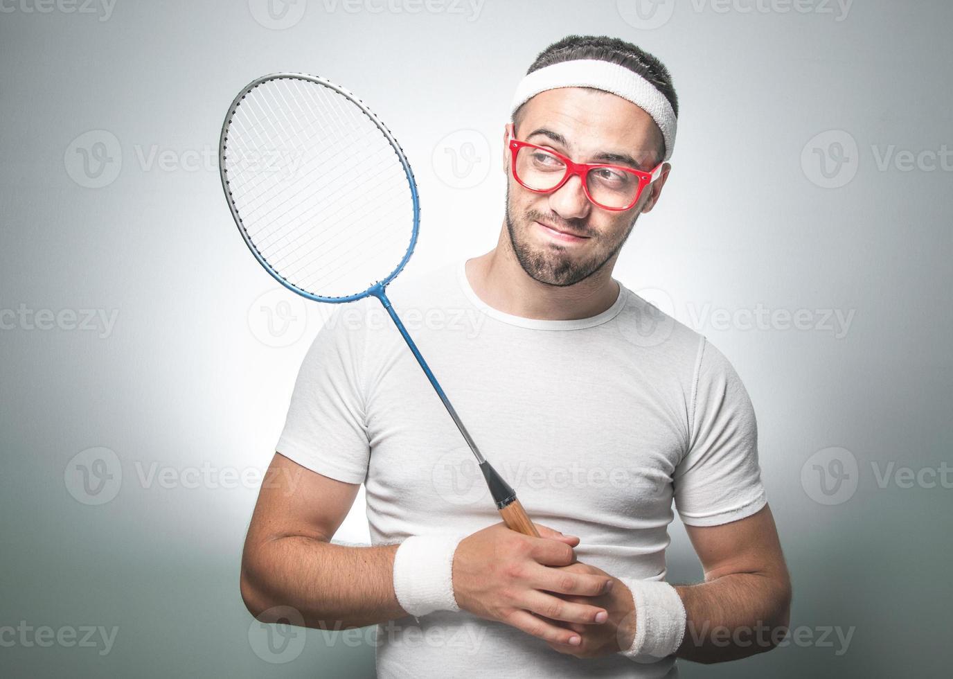grappige tennisser foto