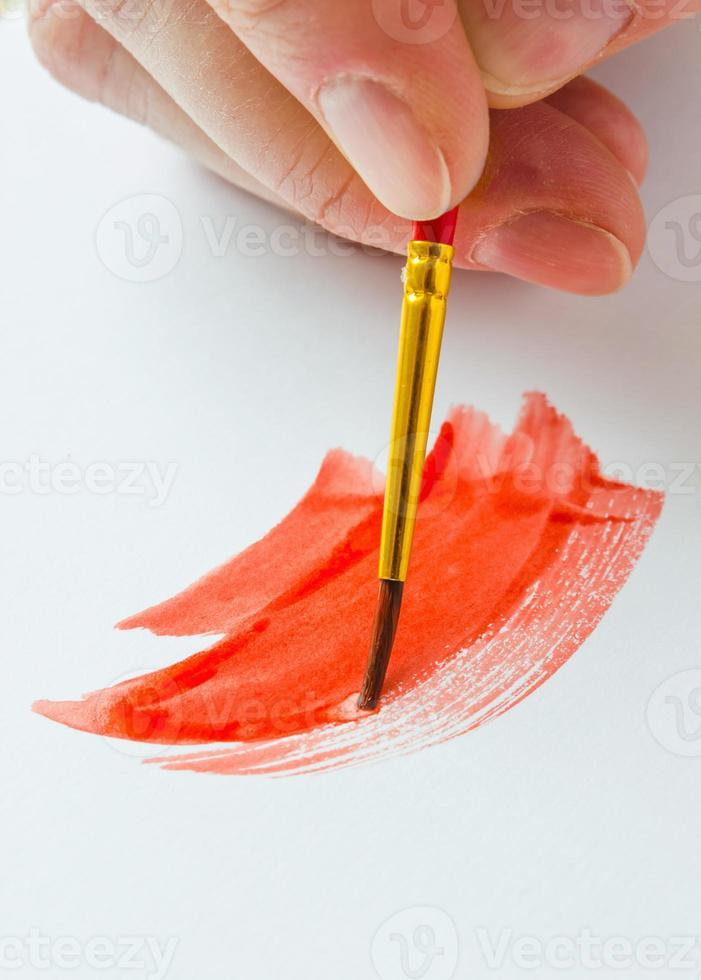 kunstenaars penseel foto