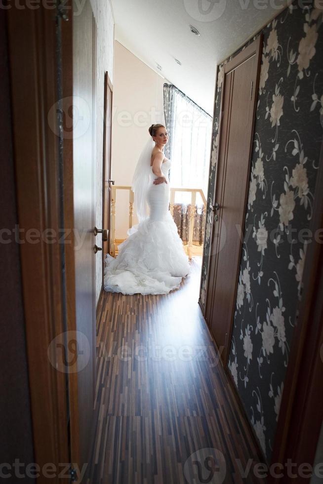 mooie bruid. foto