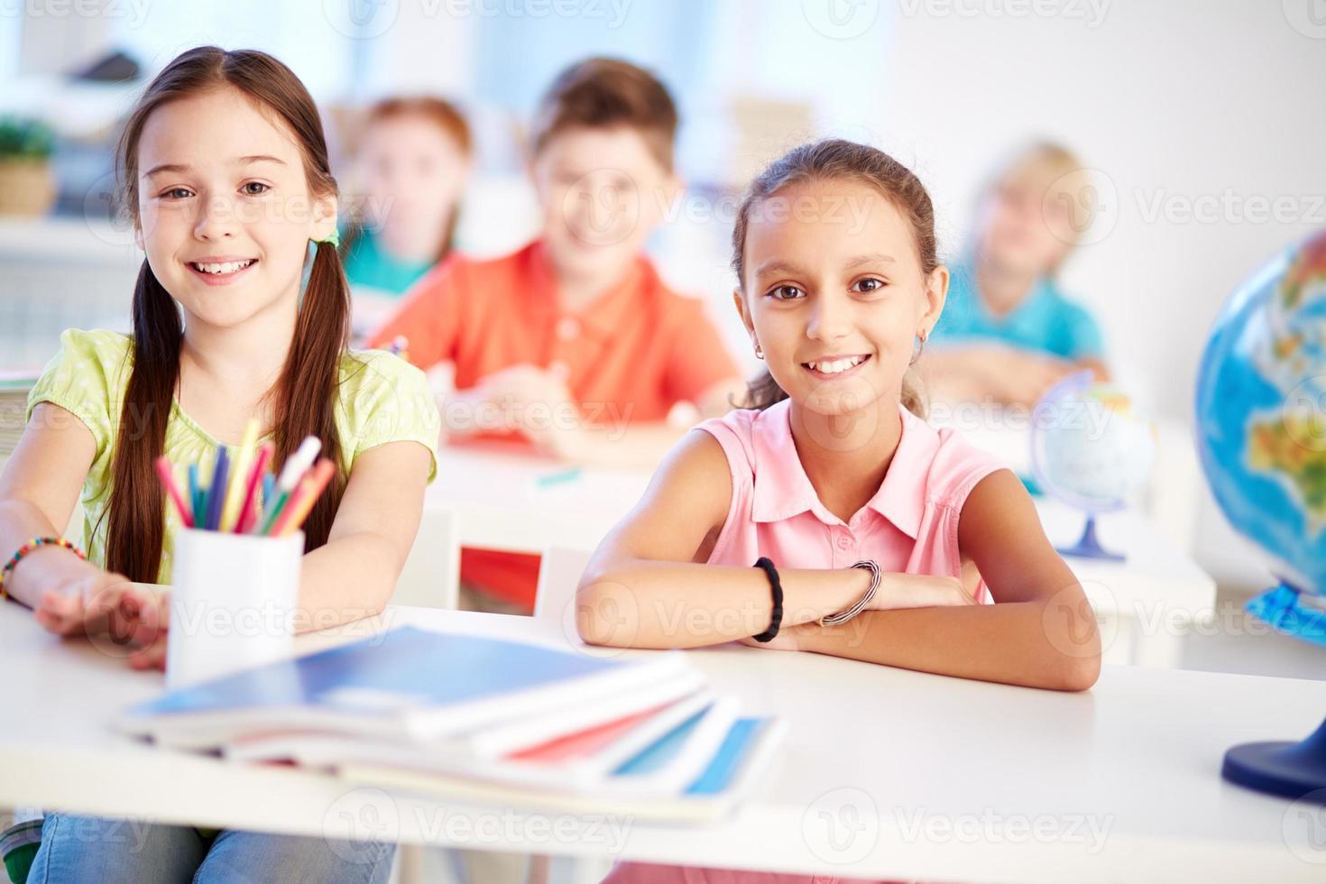 schoolmeisjes foto