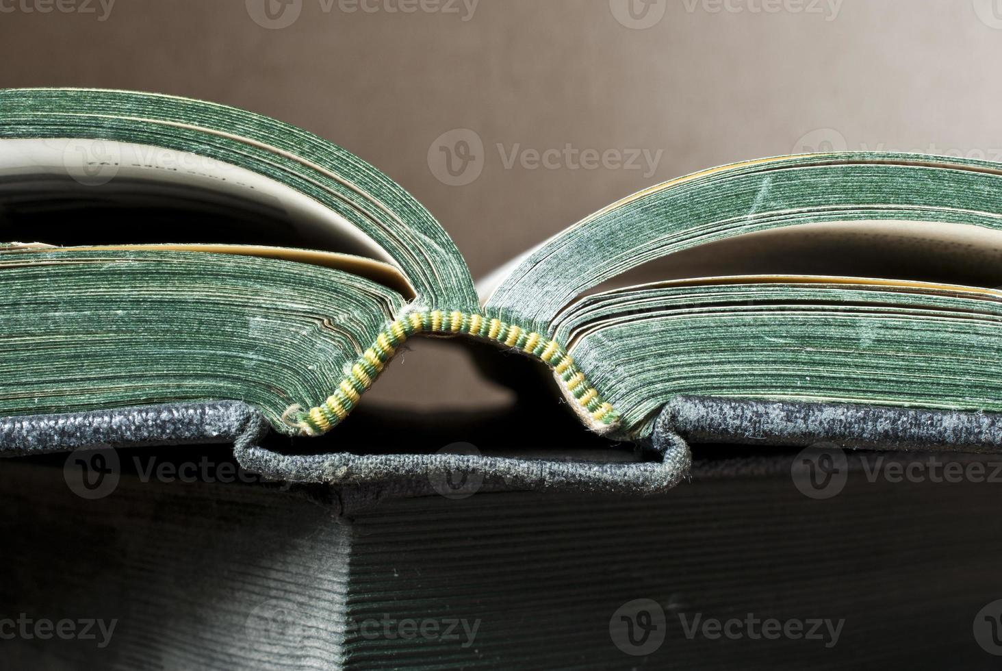 boek gezicht foto