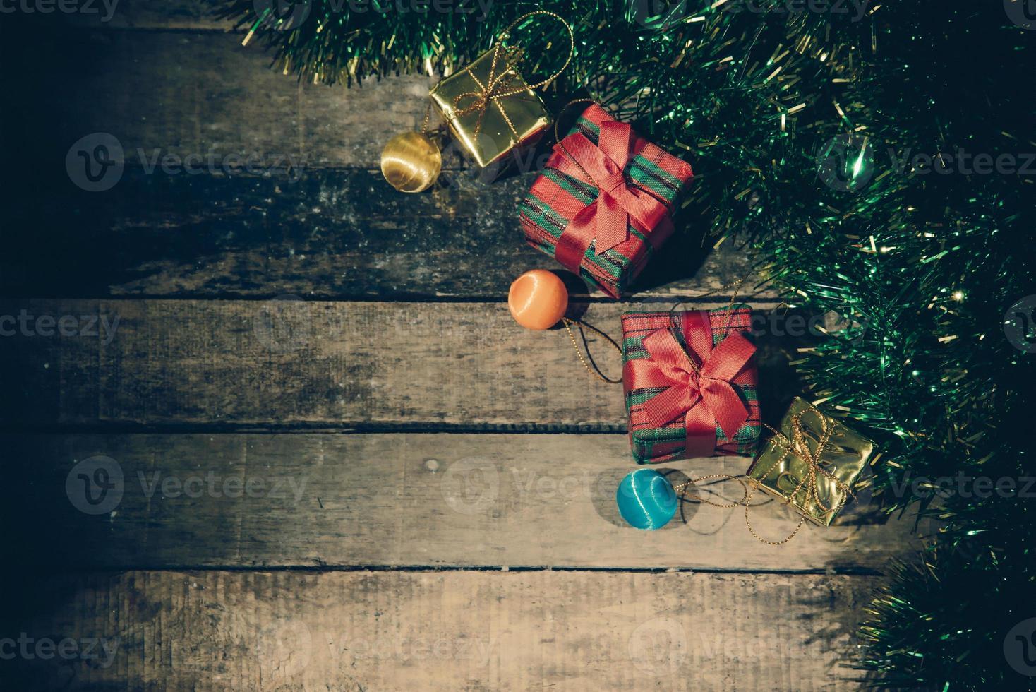 kerst stilleven. foto
