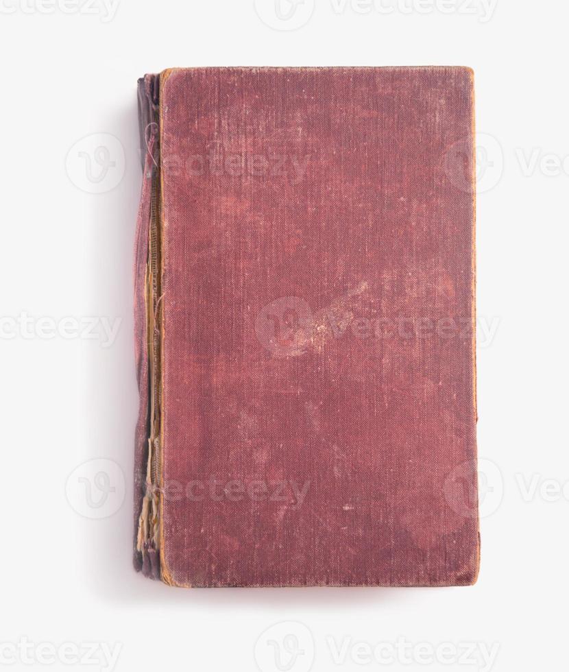 vintage rood boek, copyspace foto