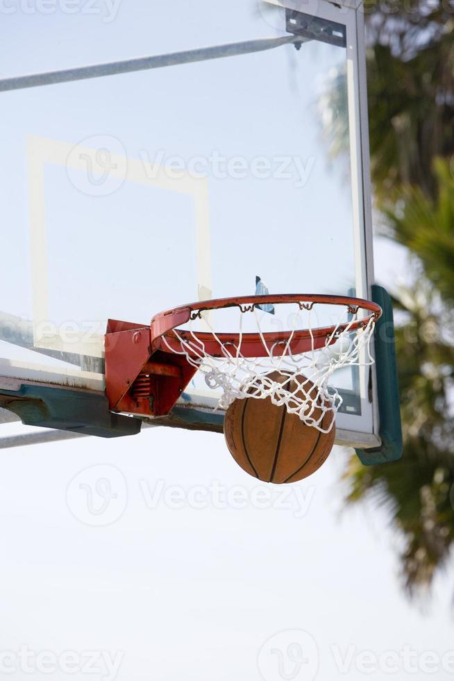 basketbal swish foto