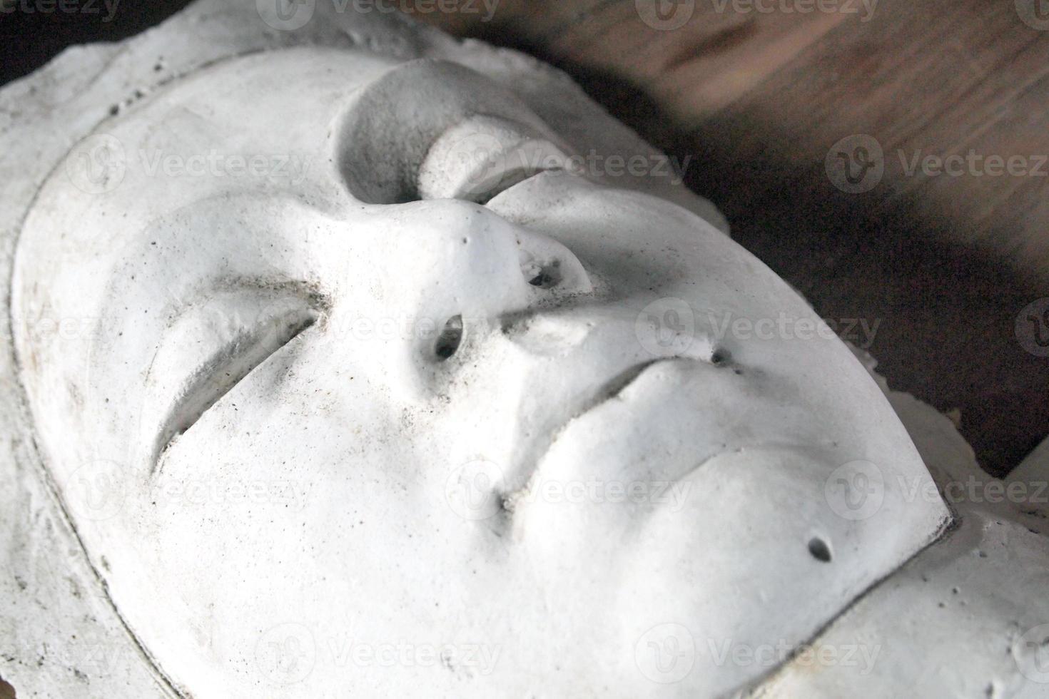 gips masker foto