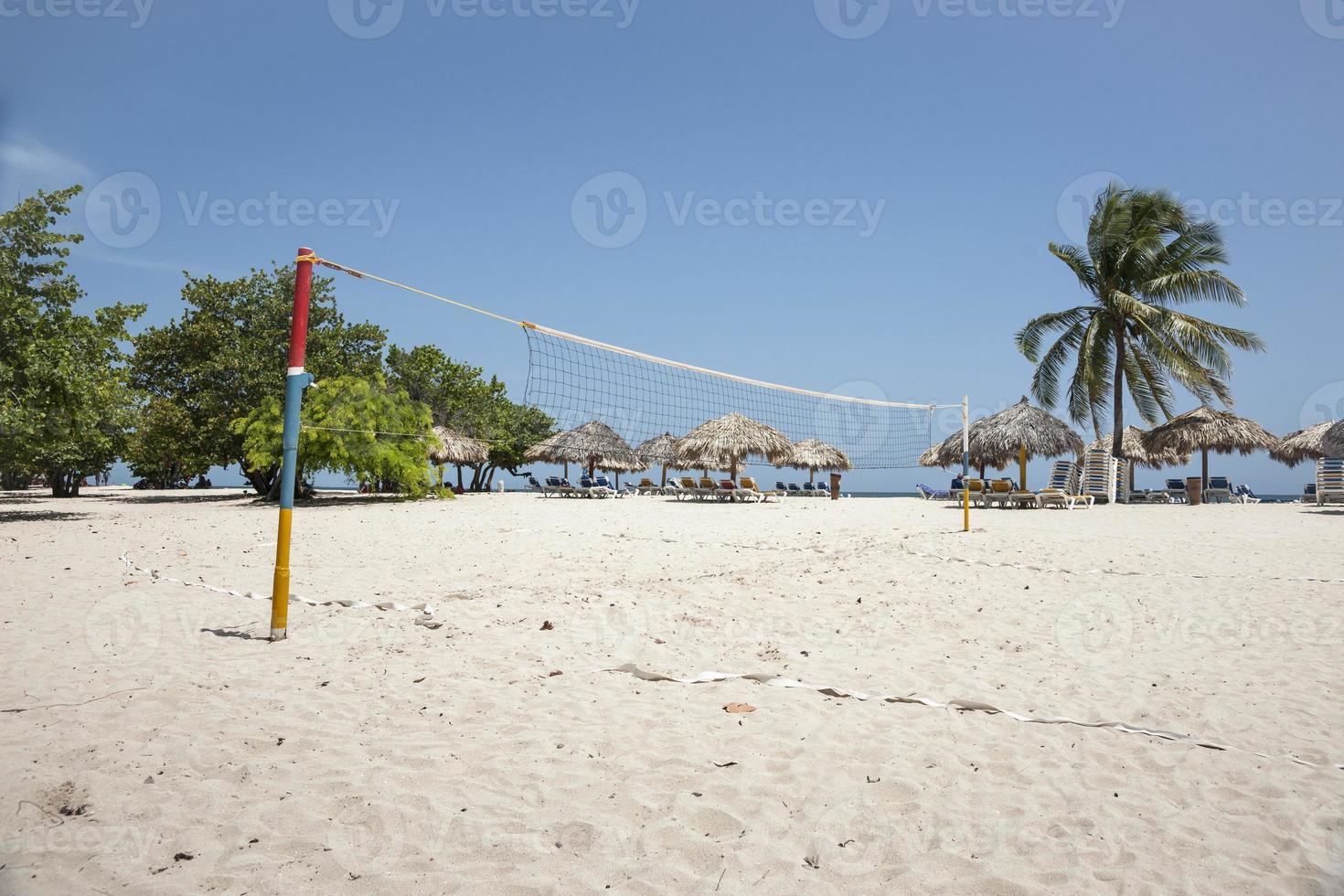 tropisch strandresort, Trinidad, Cuba. foto