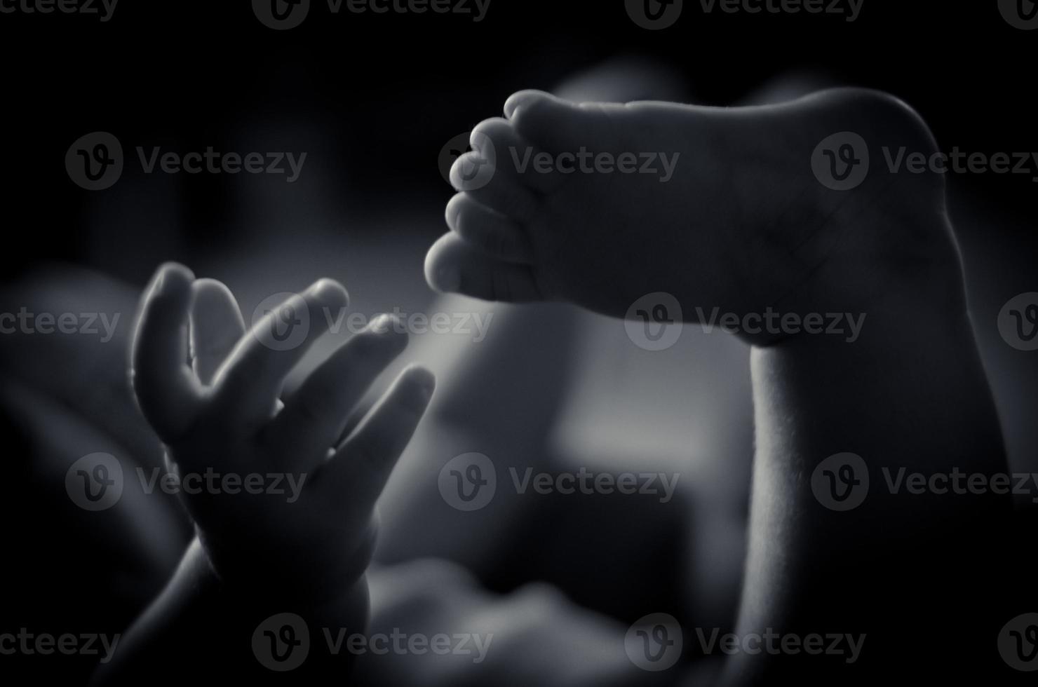 wauw, hou van mijn voet! foto