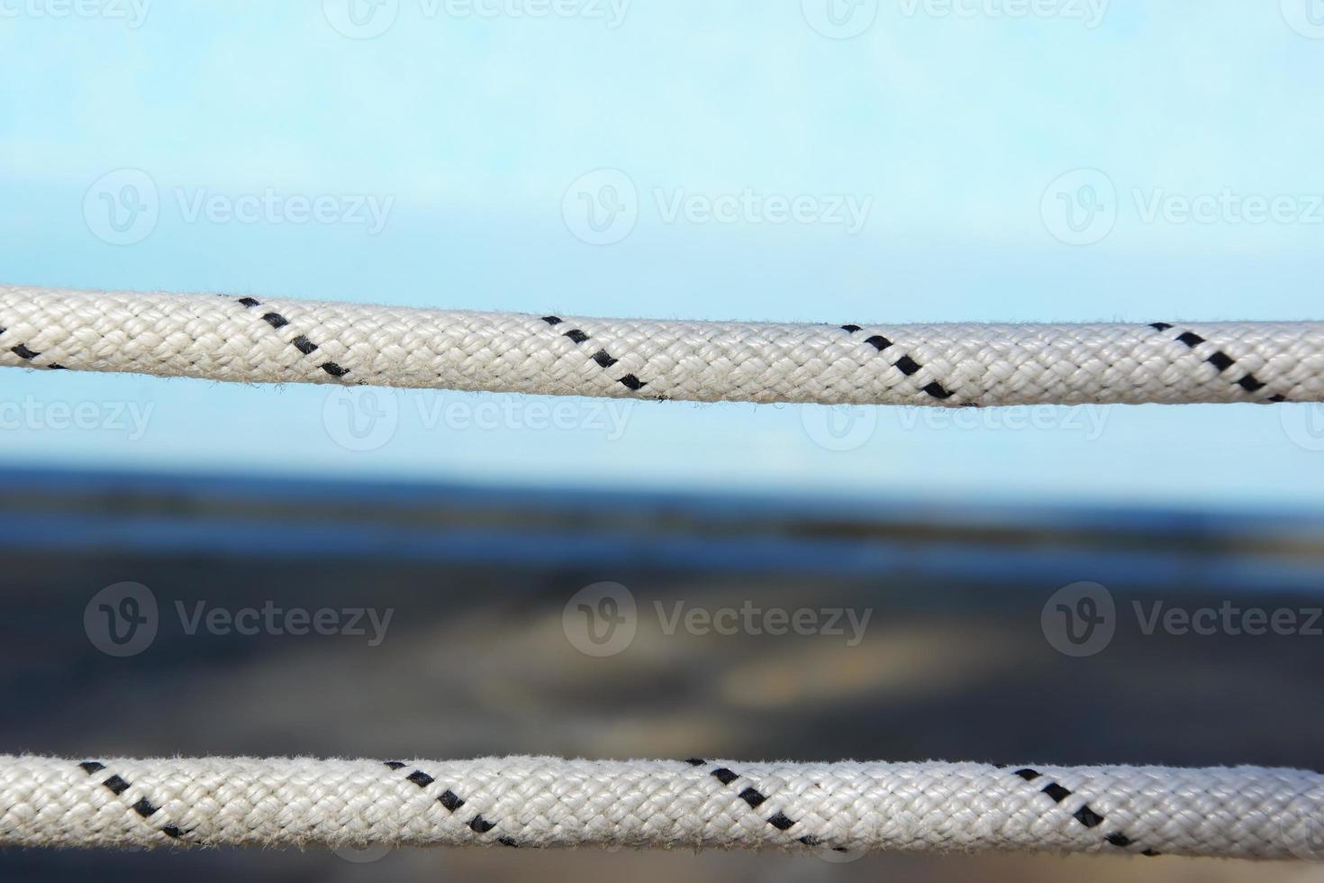 touw levenslijn close-up foto