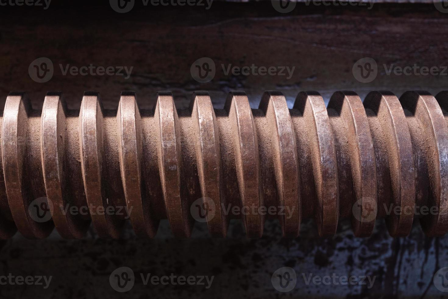 close-up op schroef foto