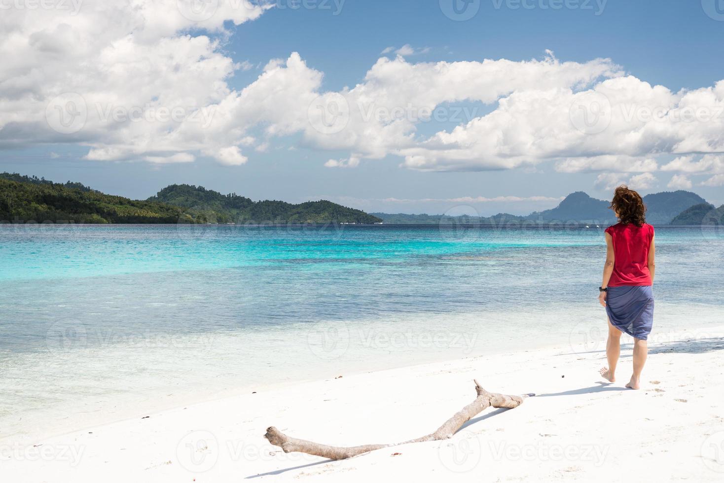 tropisch ontspannen foto