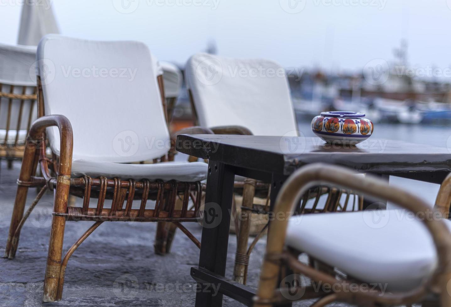 sant'angelo d'ischia, bar haven. italo ontspannen. mode foto