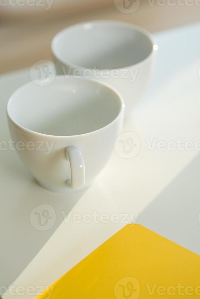 ontspannen kopje thee foto