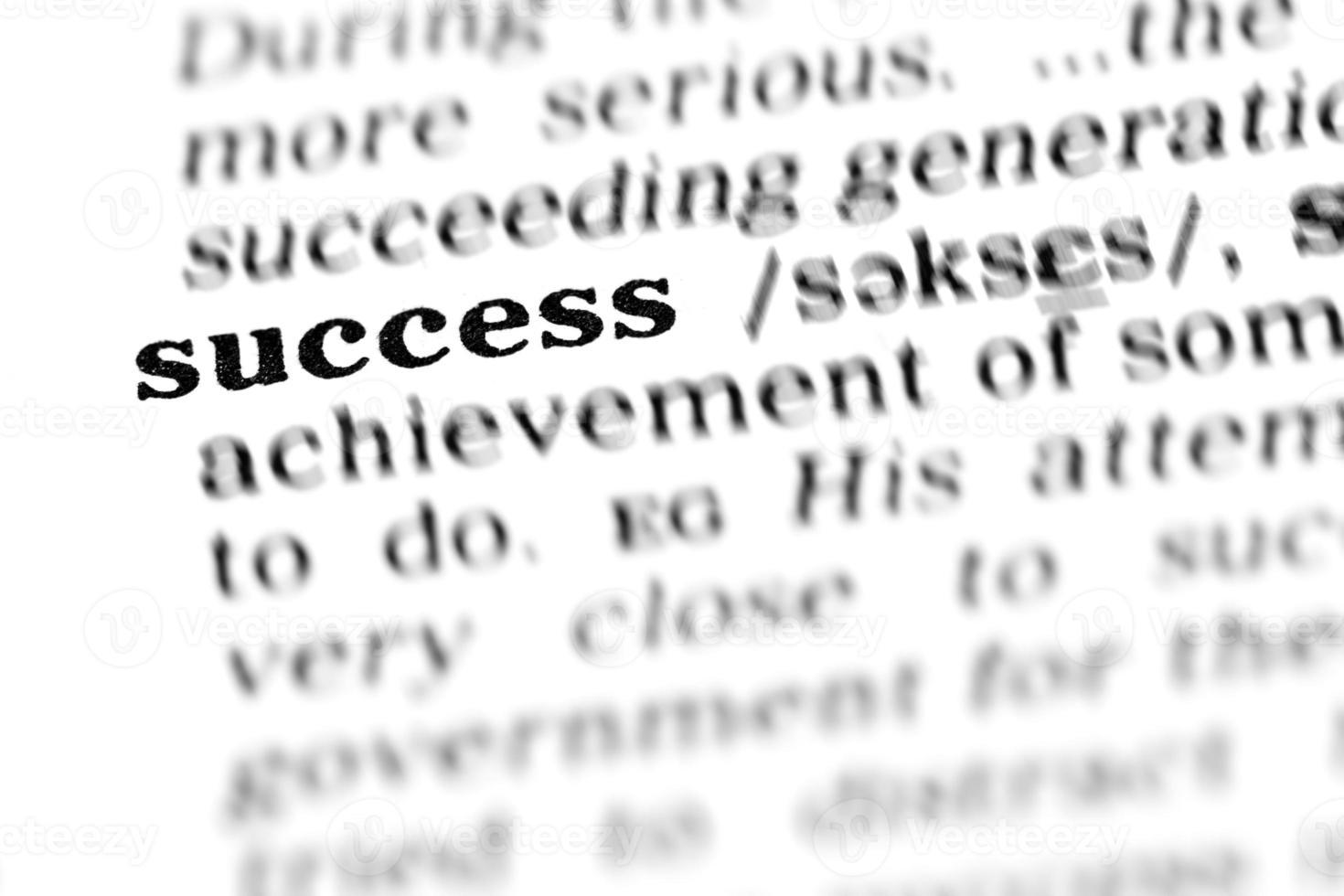 succes (het woordenboekproject) foto