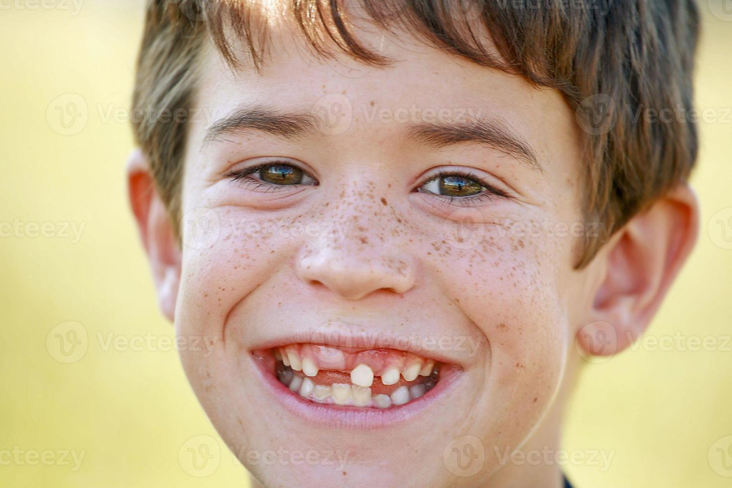 close-up van de jongen foto