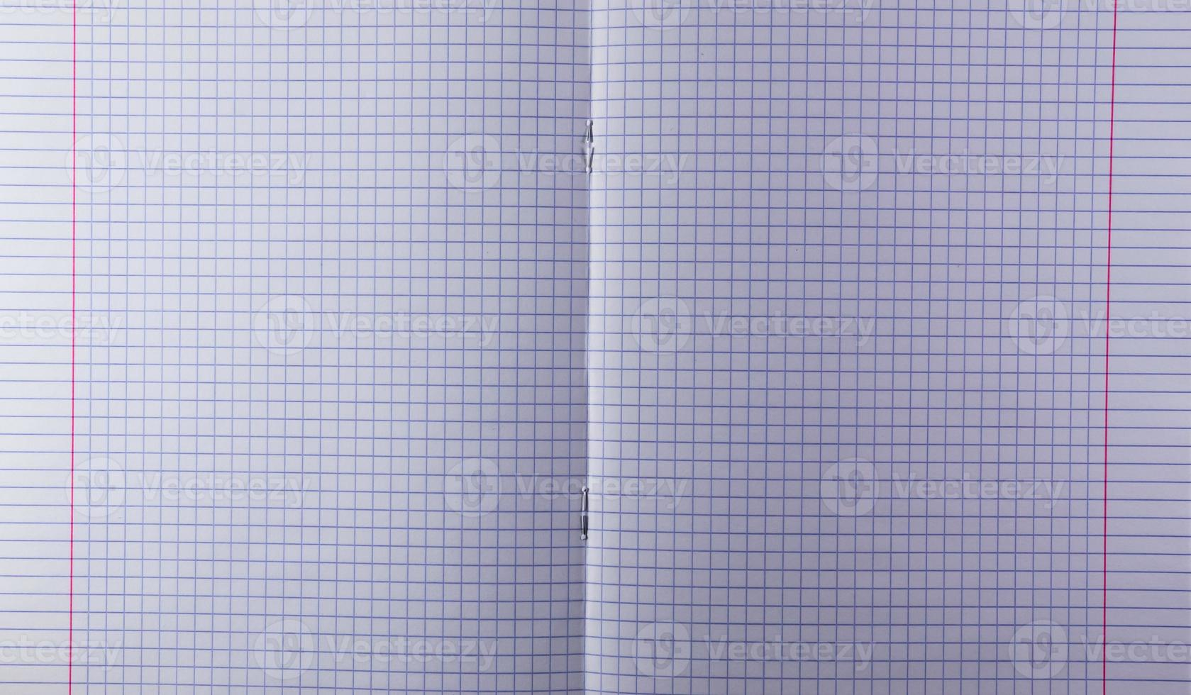 open blokjesboek foto