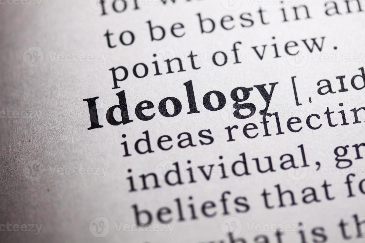 ideologie foto
