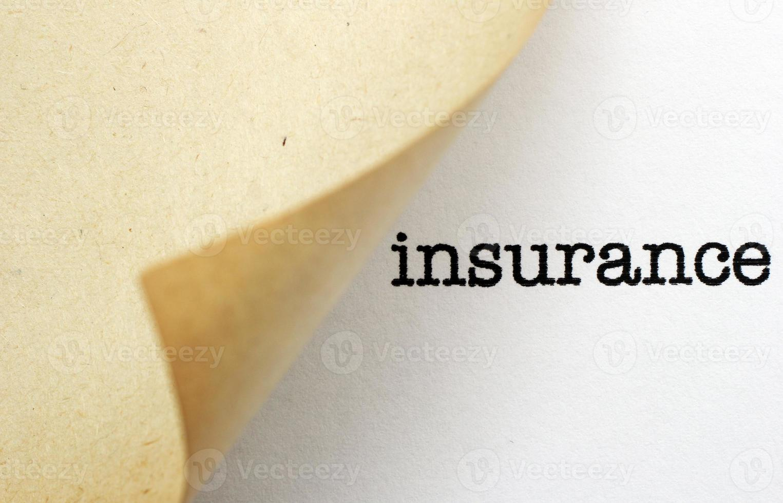 verzekering foto