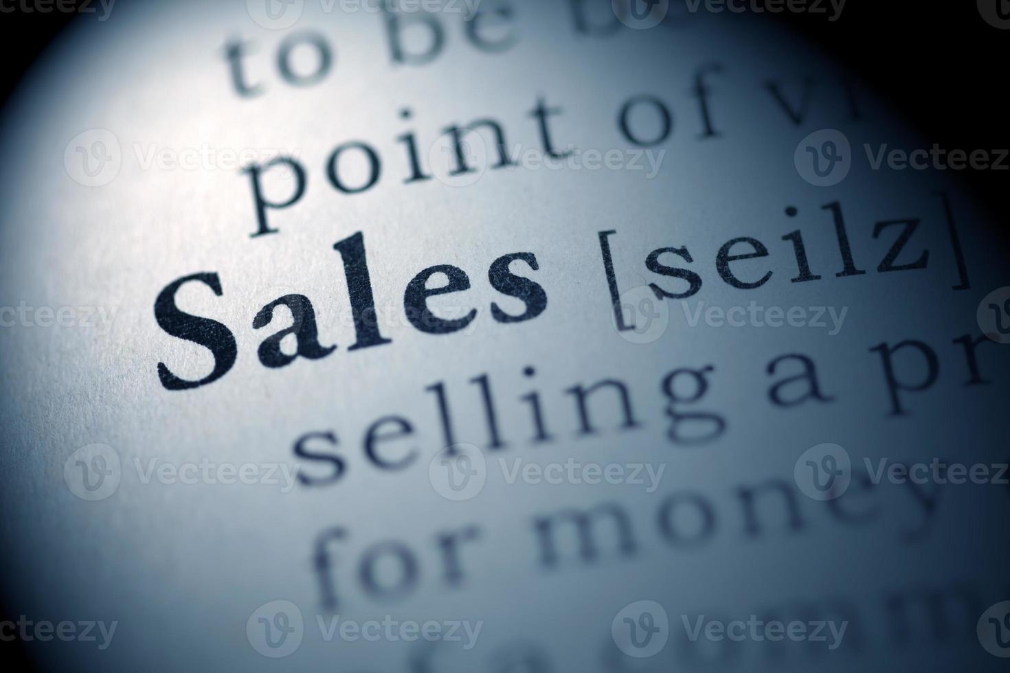 verkoop foto