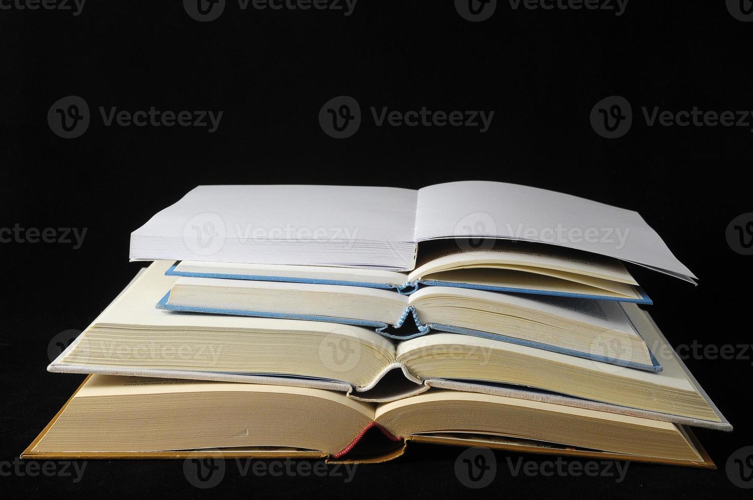 leeg boek foto