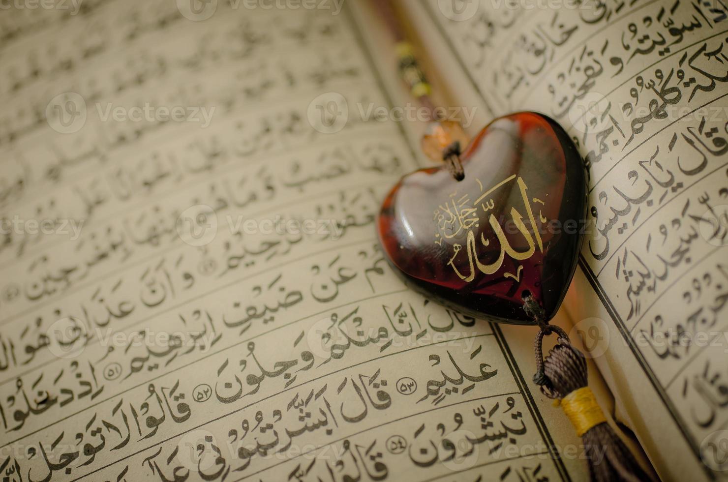 allah god van de islam foto