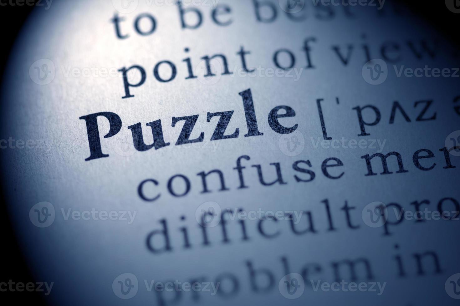 puzzel foto