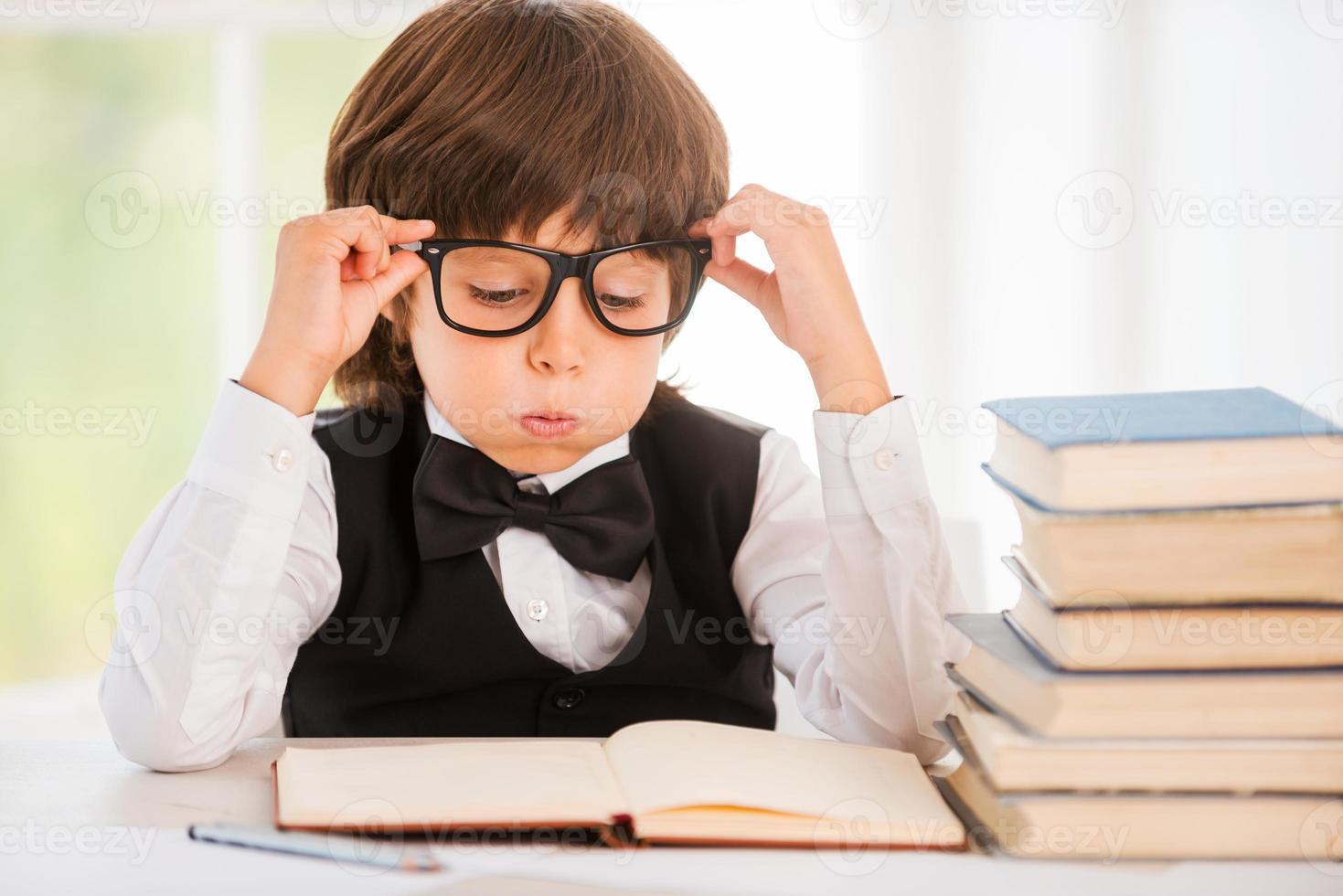 moe van studeren. foto