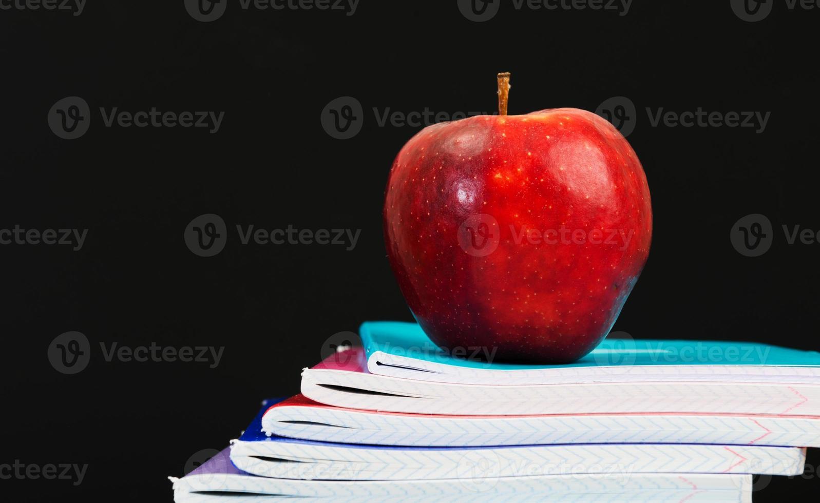 accessoires voor scholieren en studentenstudies. foto