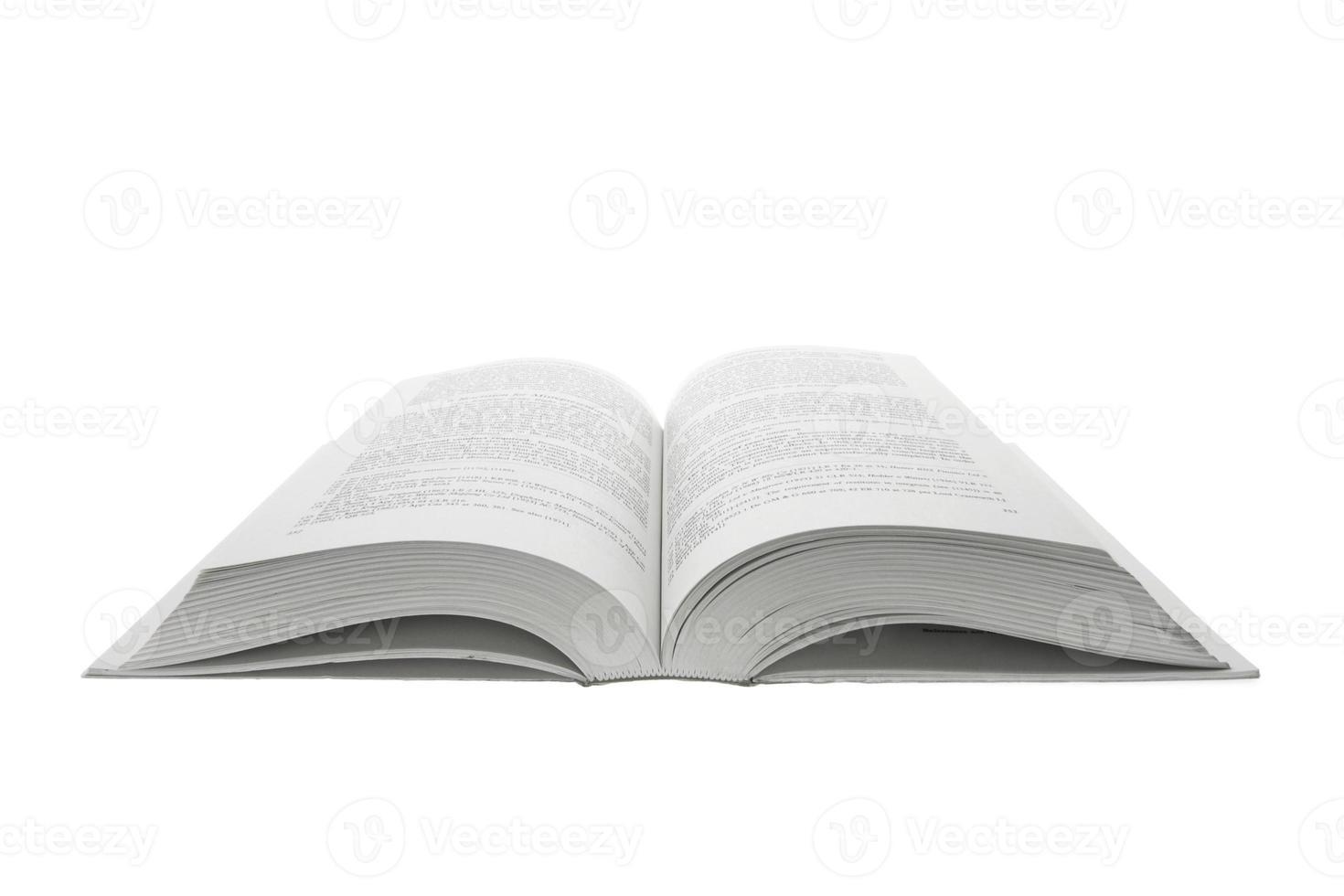 geopend boek foto