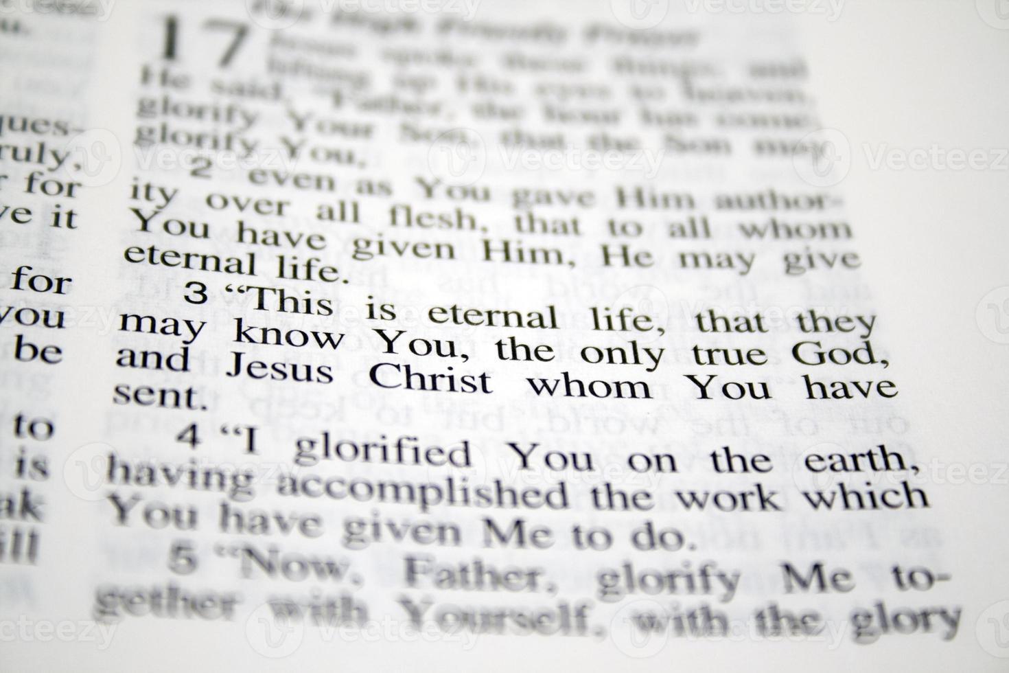 dit is het eeuwige leven ... foto