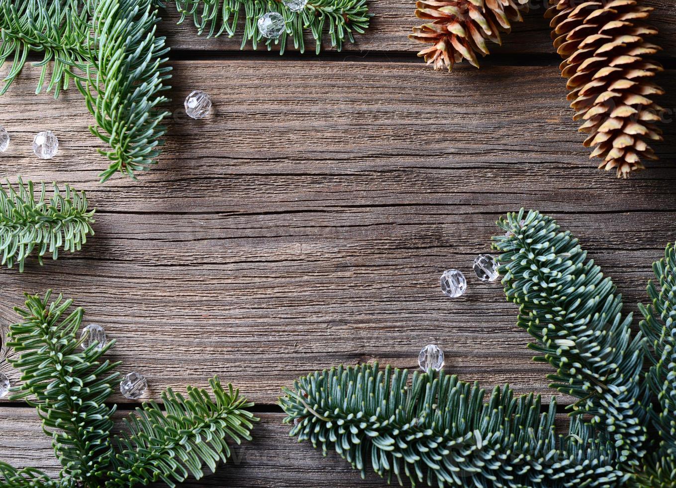 Kerst tabel achtergrond foto