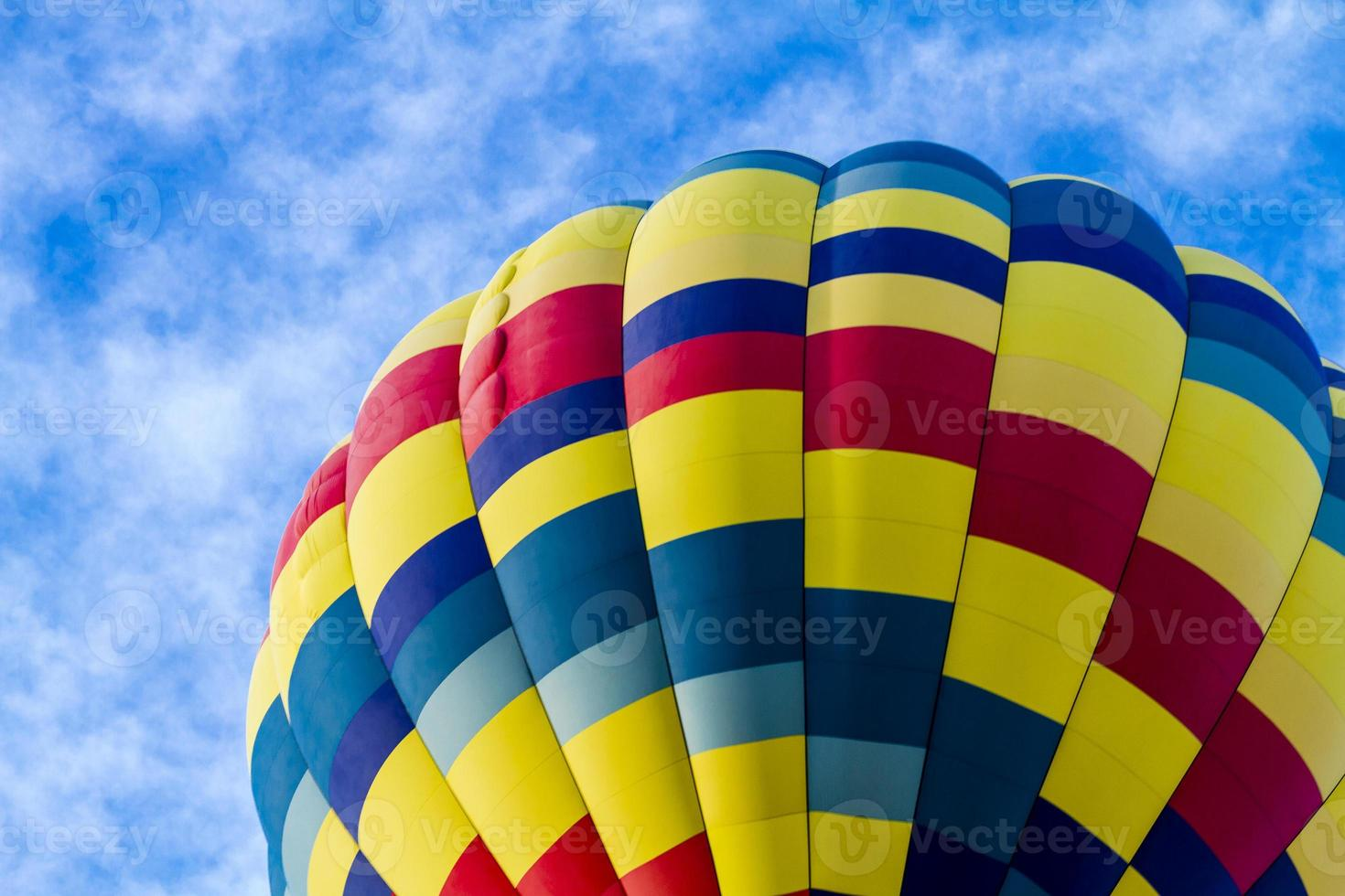 zomer luchtballonfestival foto
