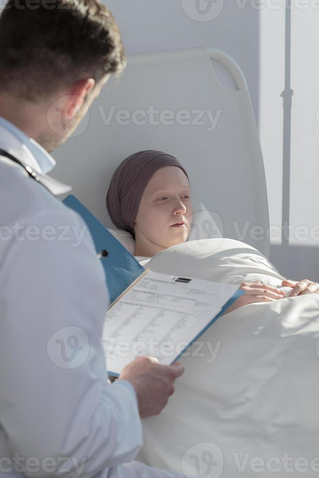 resultaten van medische onderzoeken foto