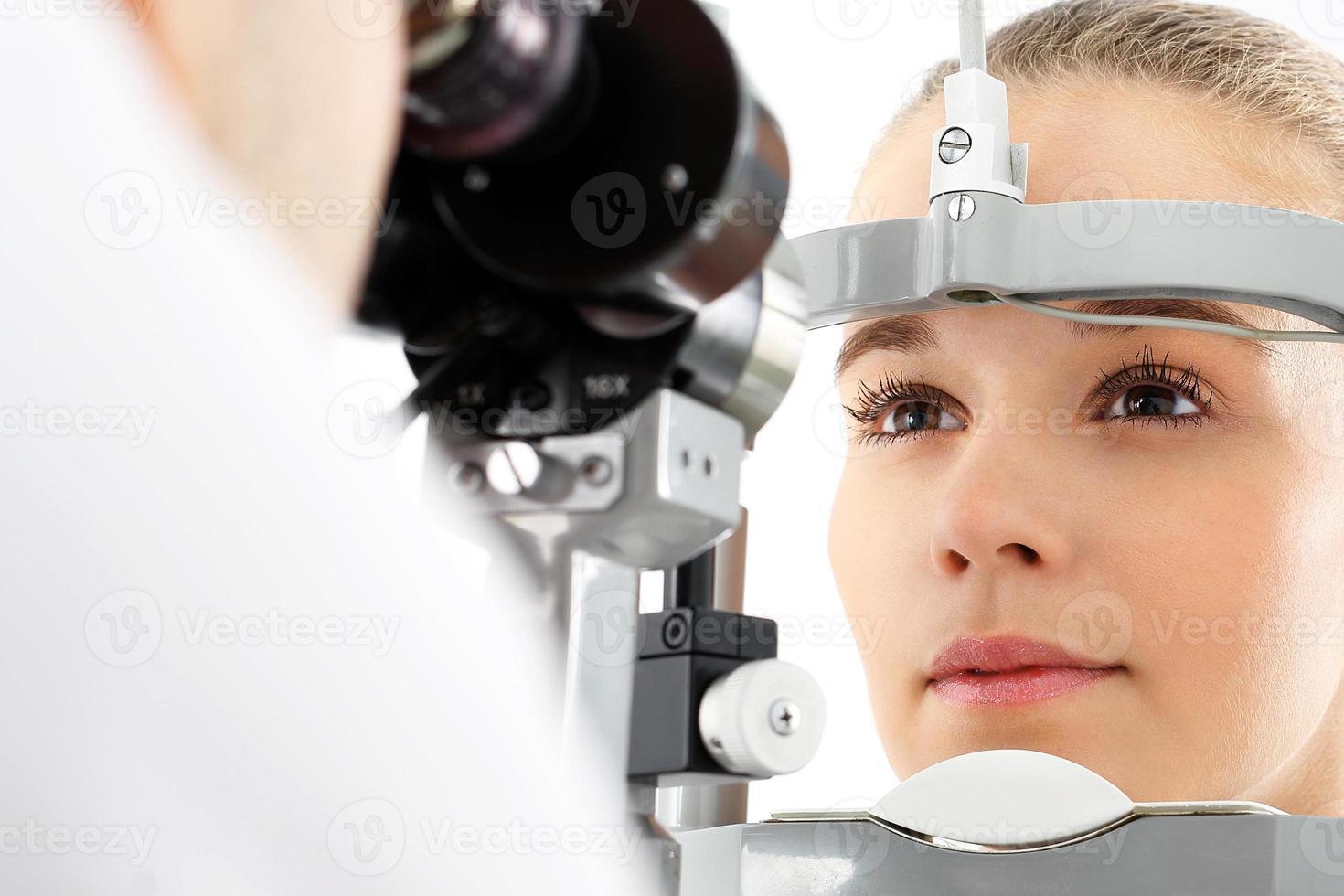 oogonderzoek. foto