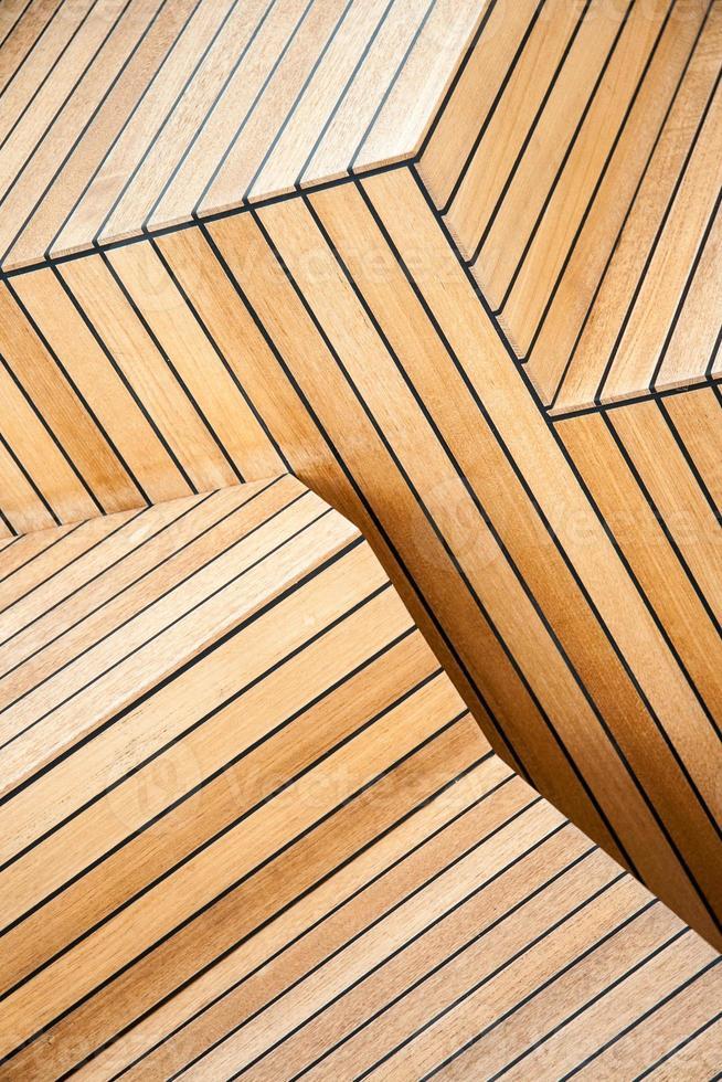 houten trap foto