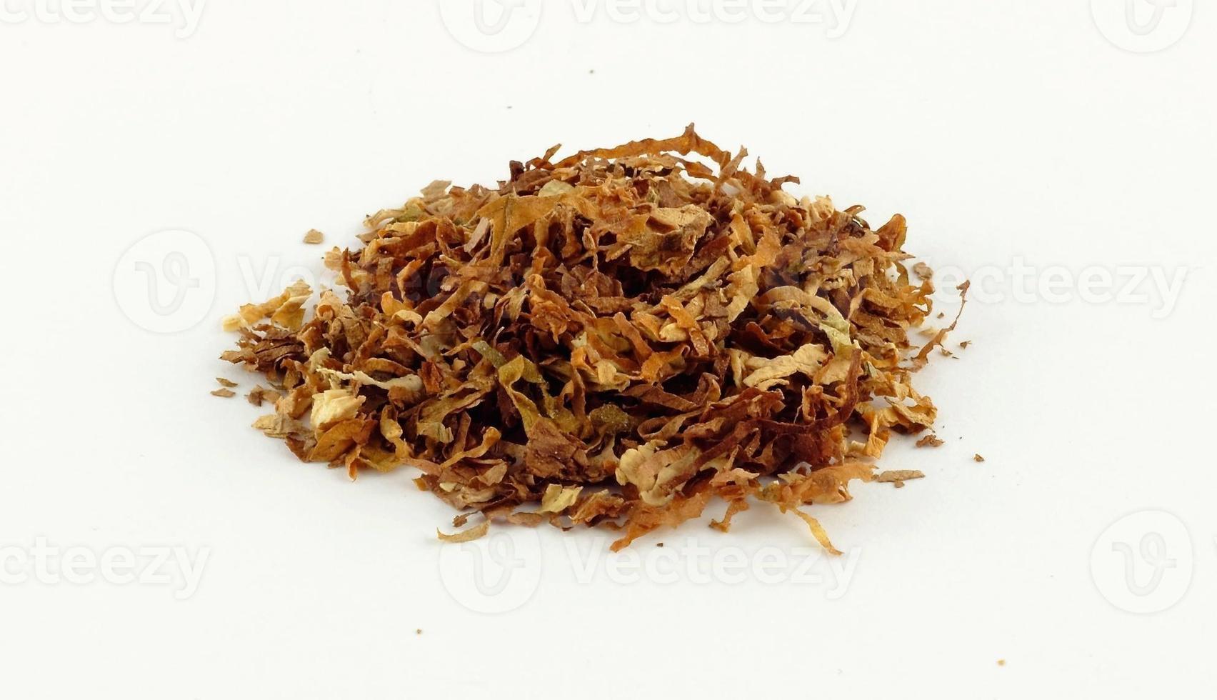 tabak van een sigaret foto