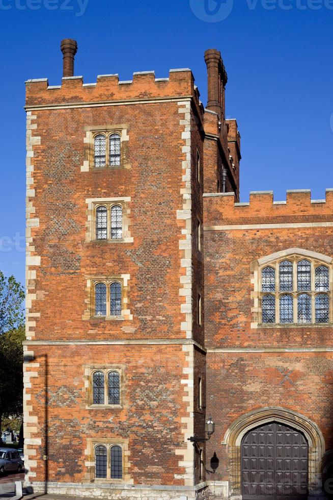 londen, lambeth palace, engeland, uk foto
