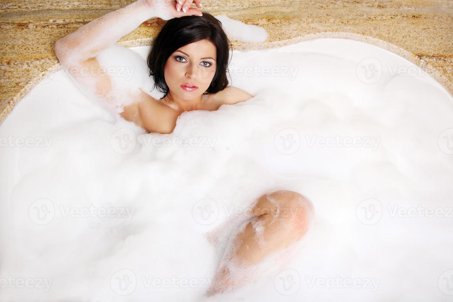 bubbelbad foto