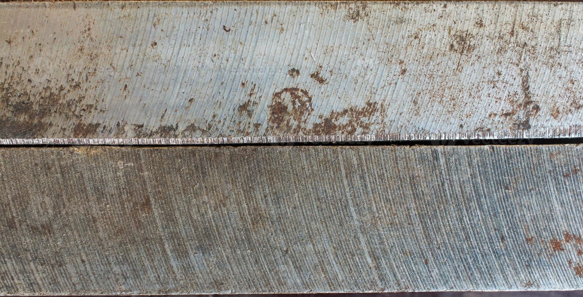 onderdeel van een oude versleten stalen draaibank foto