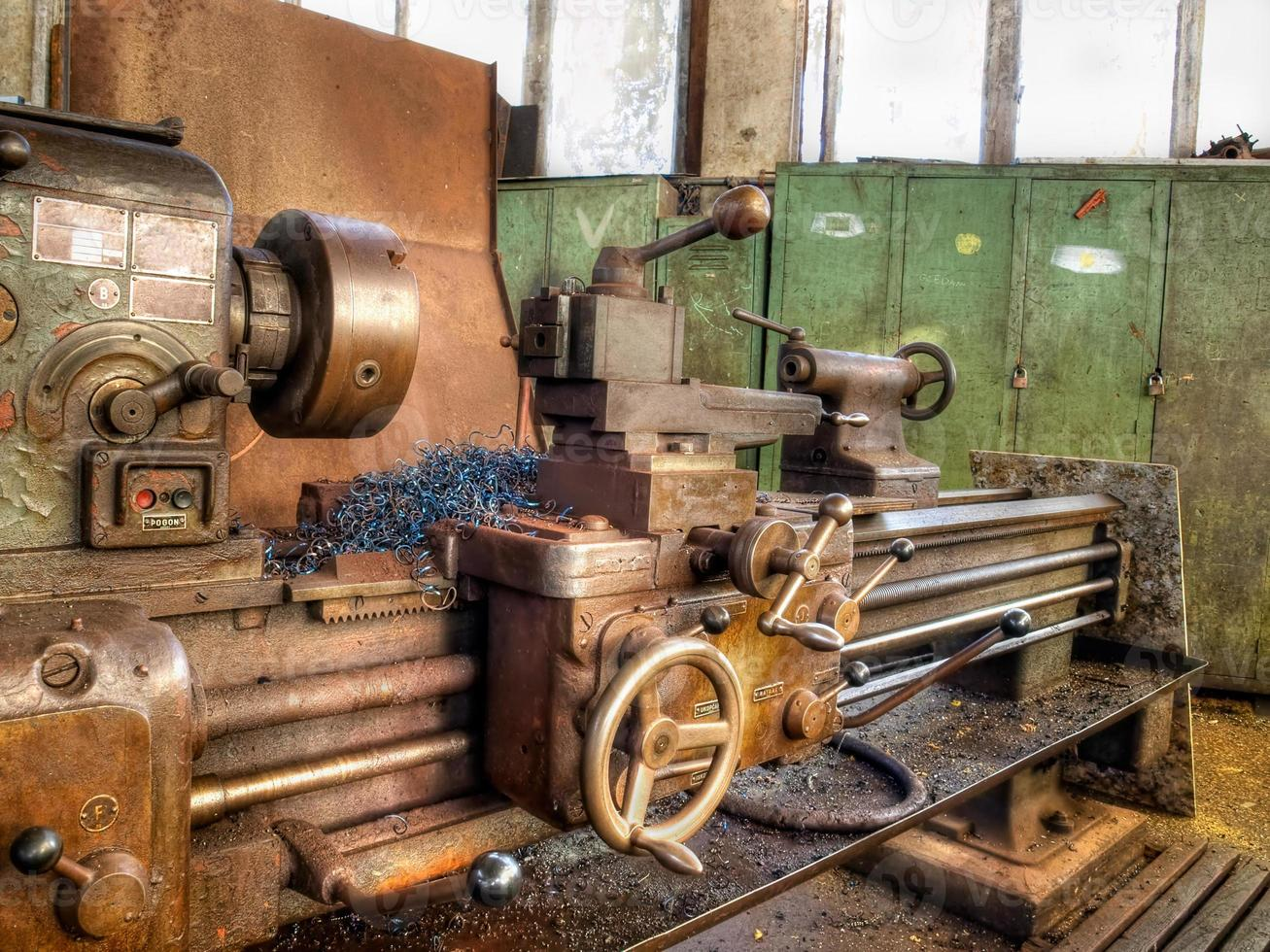 oude machines foto