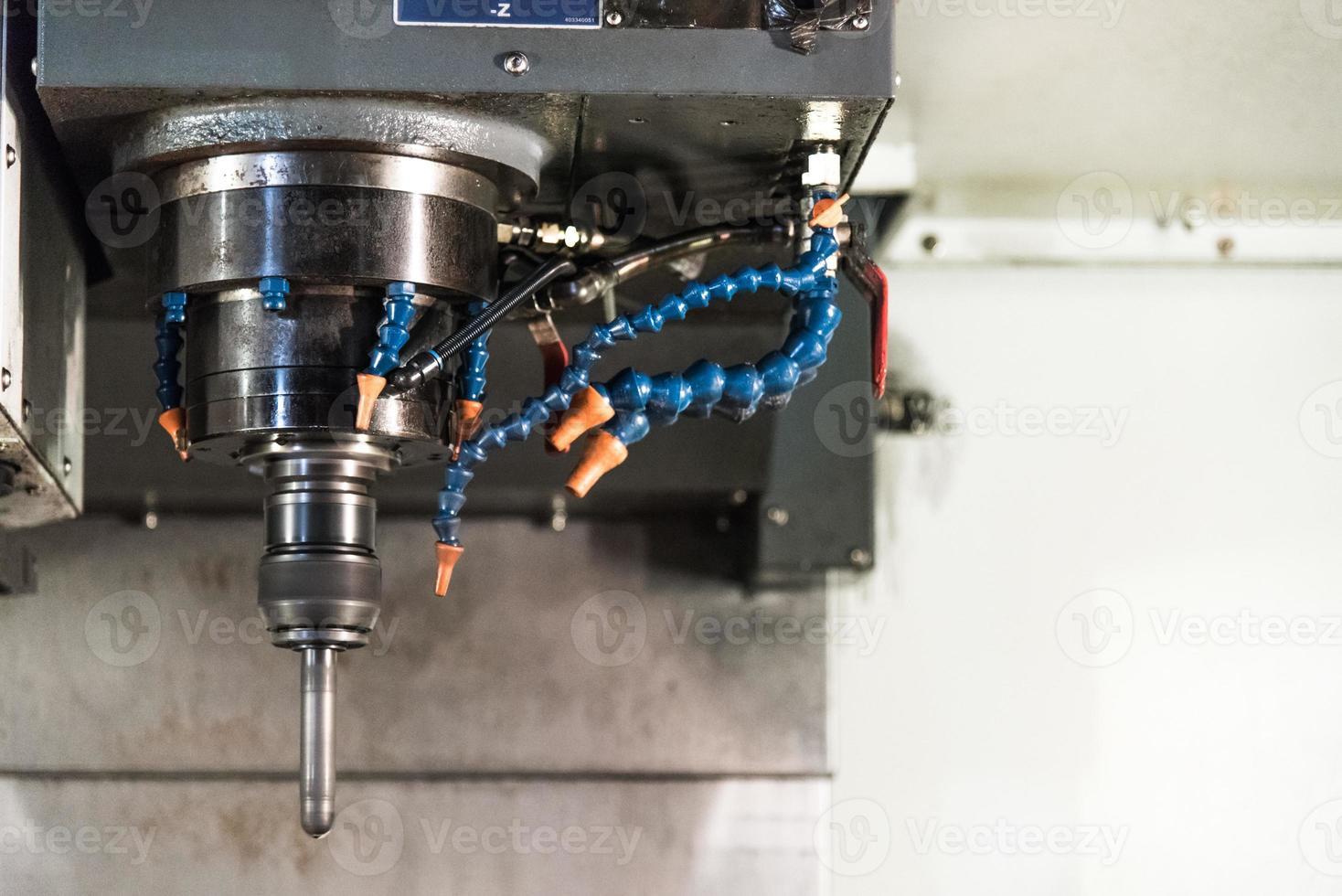 CNC machine foto