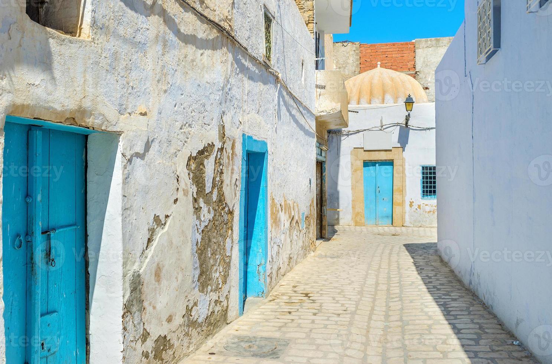 de blauwe deuren foto