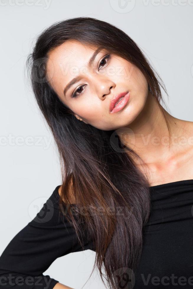 jonge vrouw foto