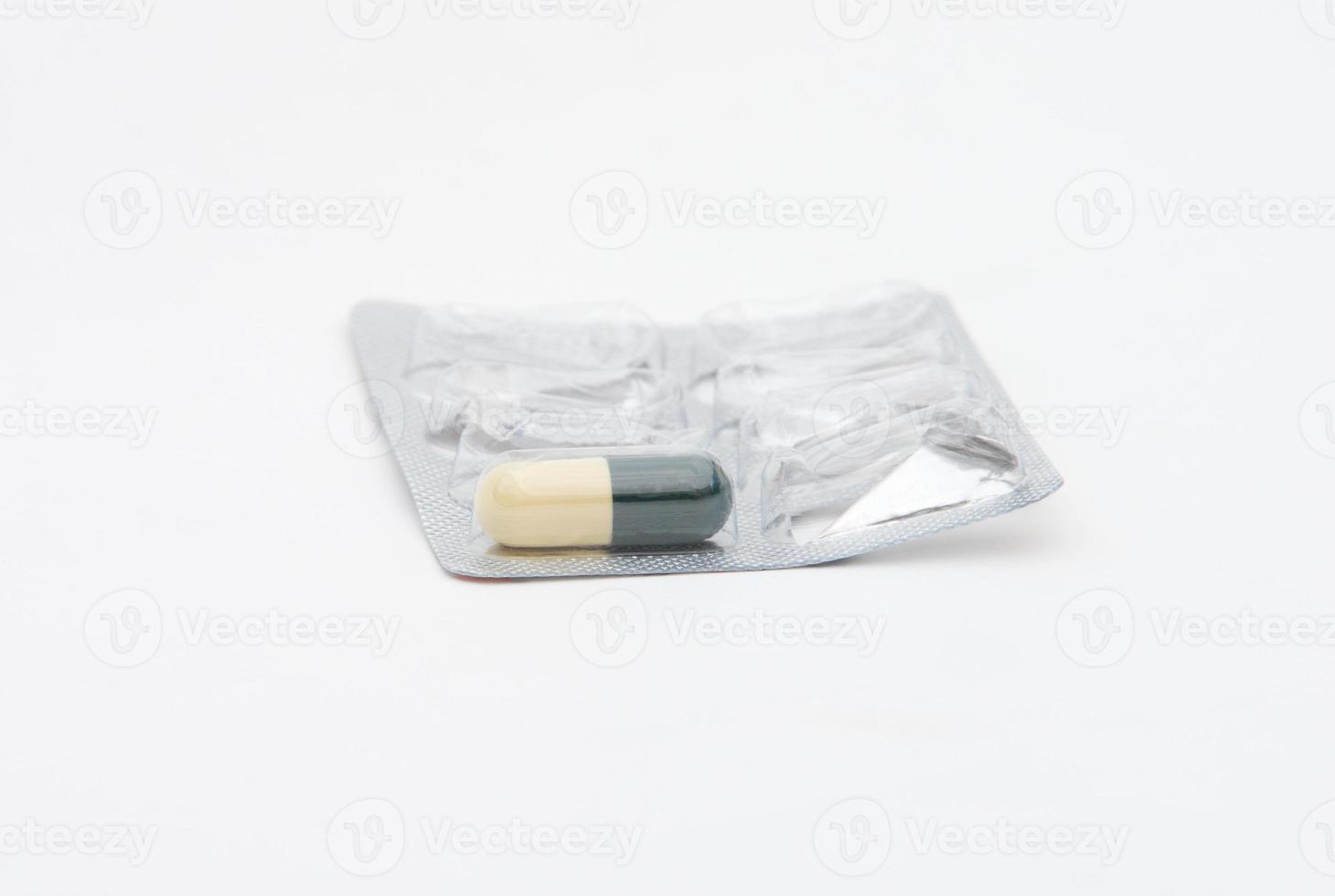 antibioticum in blister foto