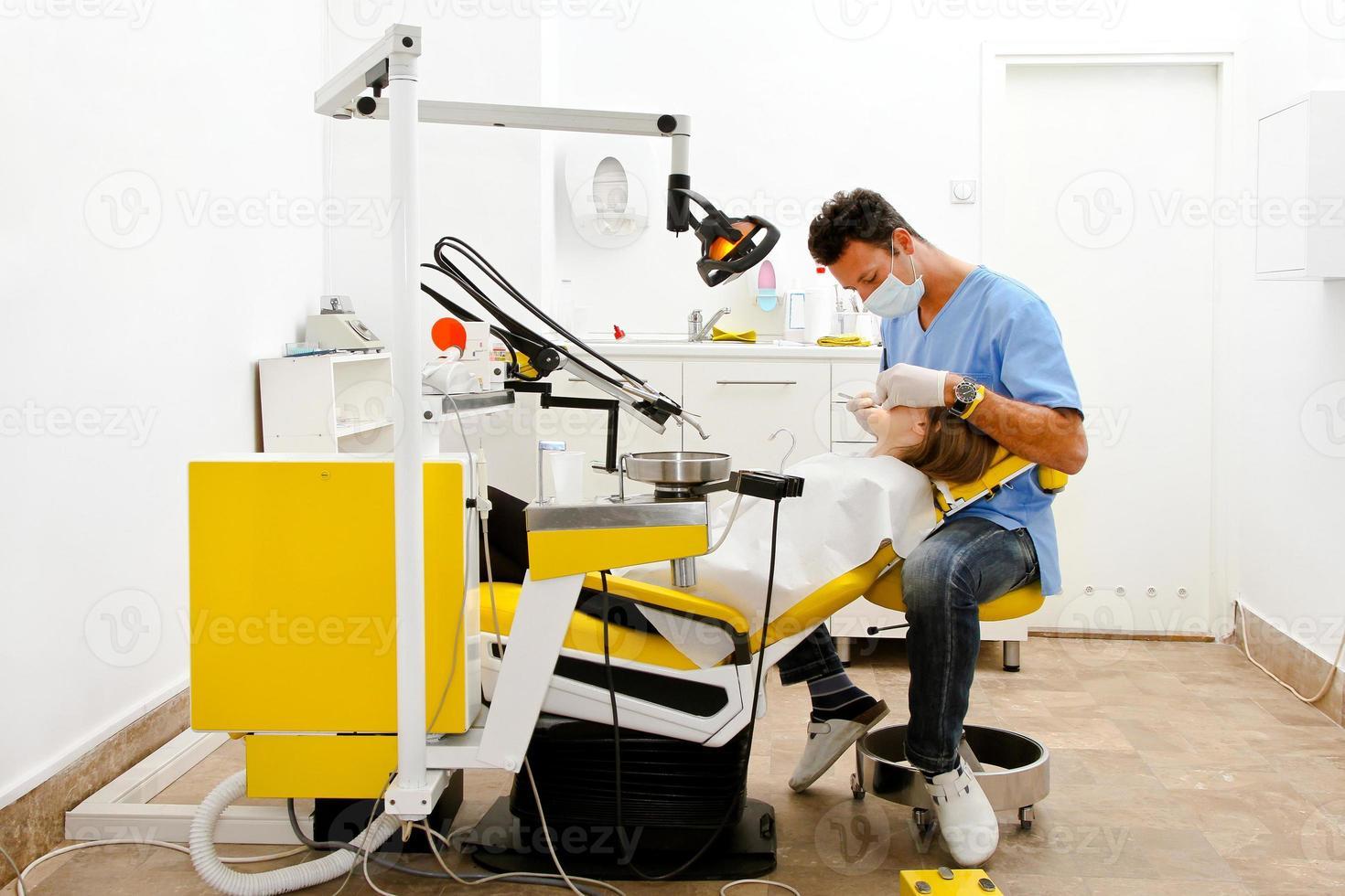 tandarts stoel foto