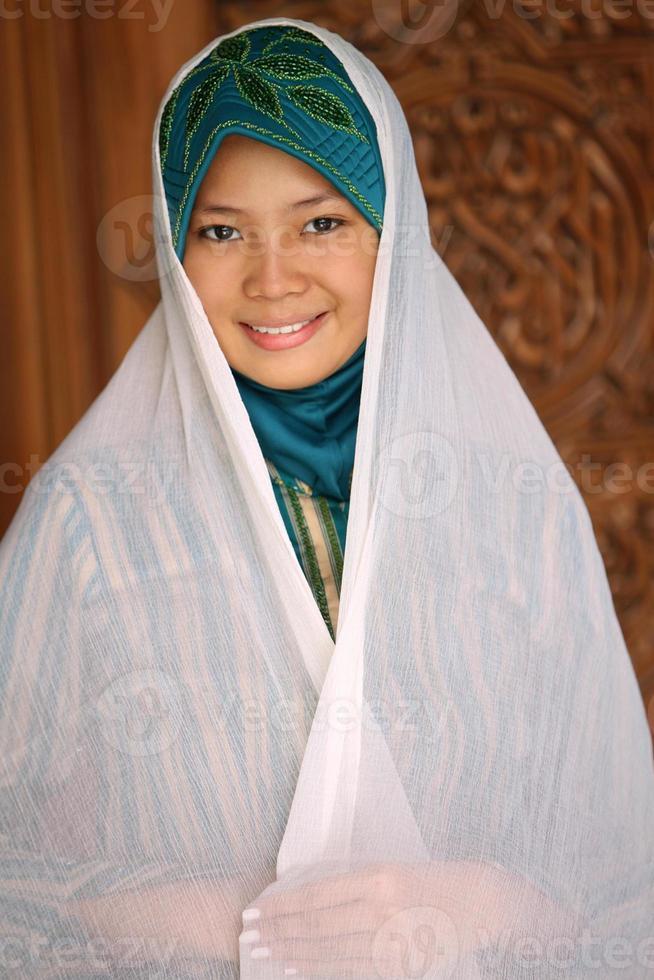 moslim meisje foto