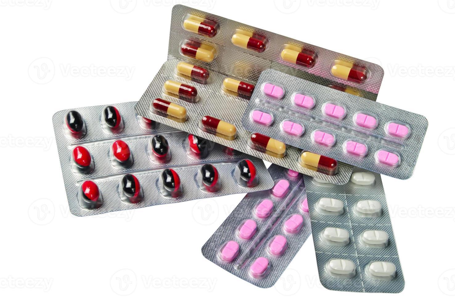 verschillende medicijnen foto