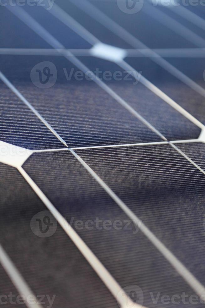 fotovoltaïsche panelen - zonne-energieconcept foto
