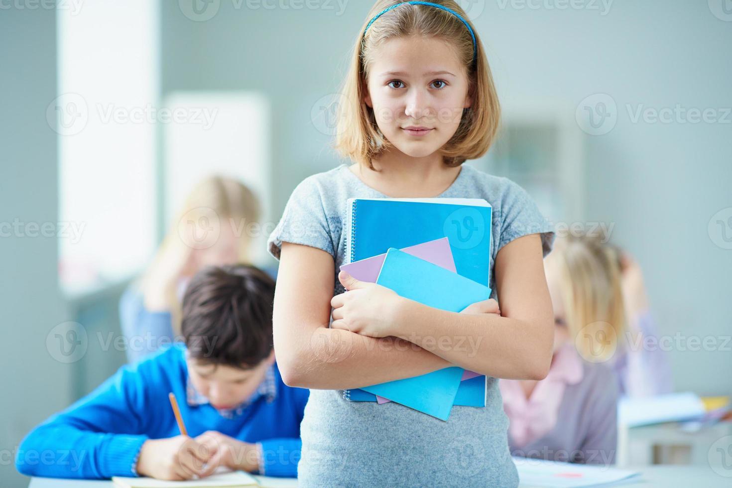 jeugdige leerling foto