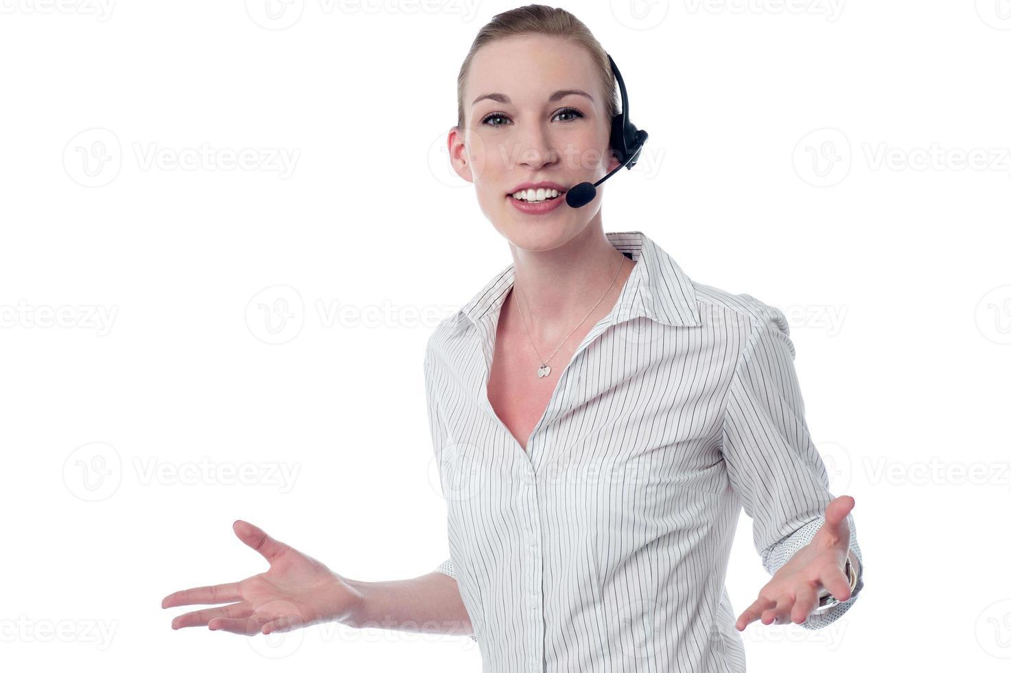 Hoe kan ik je helpen? foto
