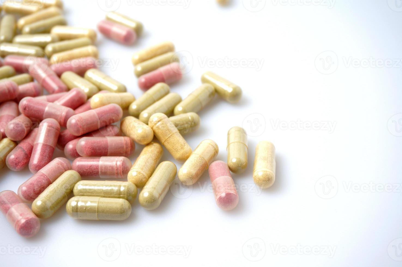 geneeskunde capsule foto